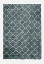 Fotakis - Royal nomadic shaggy rug - blue