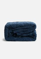 Linen House - Somers bed cover - navy