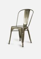 U3 - Alec chair - charcoal