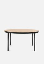 Sixth Floor - Gina coffee table - black & copper