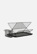 Present Time - Dish rack - black