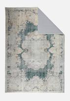 Hertex Fabrics - Lucca emerald rug - green