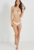 Cotton On - Seamless essential bikini brief - neutral