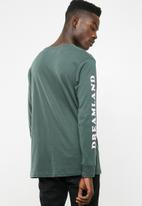 Cotton On - Tbar long sleeve - green