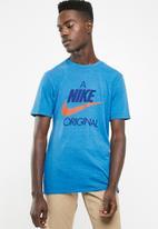 Nike - Nsw tee - blue