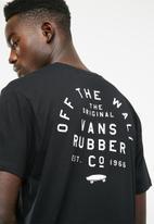 Vans - Stacked rubber short sleeve tee - black