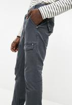 Sergeant Pepper - Twill jogger with cargo pockets - navy