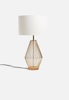 Sixth Floor - Alatea table lamp - gold