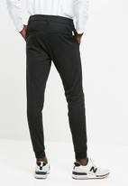 Only & Sons - Stripe casual pants - black
