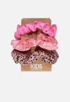 Cotton On - Mini scrunchie - Pink