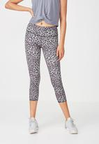 Cotton On - Recycled highwaisted yoga 7/8 tight - grey