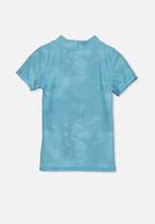 Cotton On - Finley rash vest - blue