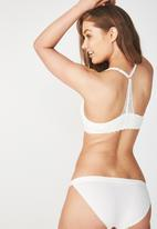 Cotton On - Super soft wirefree lift bra - cream
