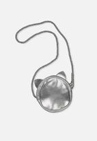Cotton On - Kids kitty bag - silver