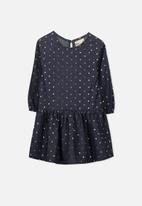 Cotton On - Kids Cassandra dress - blue