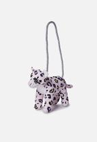 Cotton On - Plush animal bag - pink