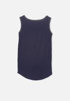 Cotton On - Brooke singlet sleeveless - navy