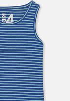Cotton On - Brooke singlet sleeveless - blue