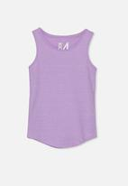 Cotton On - Brooke singlet sleeveless - lilac