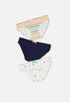 Cotton On - Licence underwear 3 pack - multi