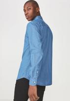 Cotton On - Brunswick shirt  - blue