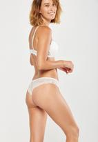 Cotton On - Cindy brasiliano brief - cream