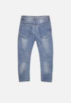 Cotton On - Joseph slouch pants - blue