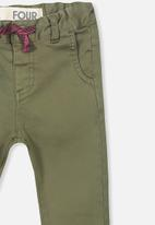 Cotton On - Joseph slouch pants - green