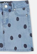 Cotton On - Francie denim skirt - blue