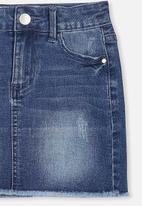 Cotton On - Francie denim skirt - navy
