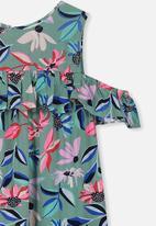 Cotton On - Immie short sleeve dress - multi
