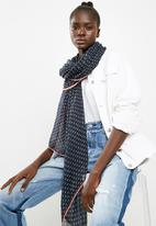 ONLY - Natasja weaved scarf - navy