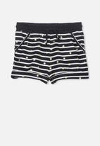 Cotton On - Nila knit shorts - navy