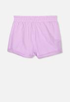 Cotton On - Nila knit shorts - purple