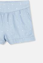 Cotton On - Callie shorts - blue