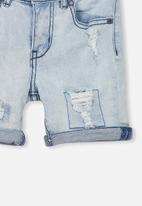 Cotton On - Pacey denim shorts - blue