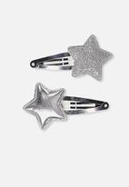Cotton On - Dress up hair clip - silver