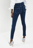 dailyfriday - Ameli high waisted rip and repair skinny