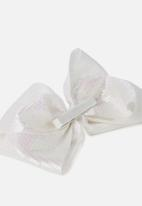 Cotton On - Statement bow - white