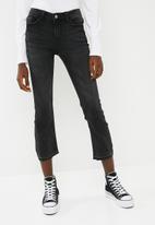 Jacqueline de Yong - Skinny regular jake ankle trend jean - grey