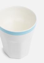 Urchin Art - Indie mug set of 2 - blue