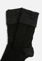 Falke - Bedrock ankle socks - black