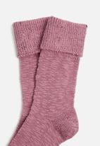 Falke - Bedrock ankle socks - pink