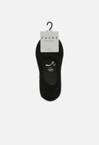 Falke - Invisible 2 pack socks - black