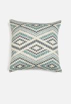 Hertex Fabrics - Beadlow cushion cover - blueberry