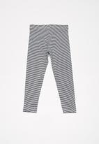 Cotton On - Huggie tights - navy & white
