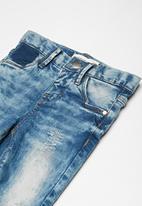 name it - Kids girls denim jeans - blue