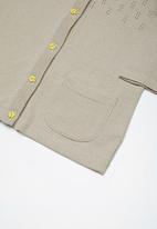 Superbalist - Rainbow button cardigan - beige