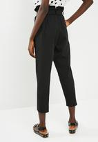 Superbalist - D ring pant - black