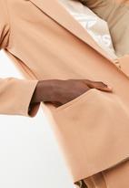 Superbalist - Classic lined blazer - tan
